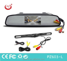Hot selling American car License plate reverse camera for backup