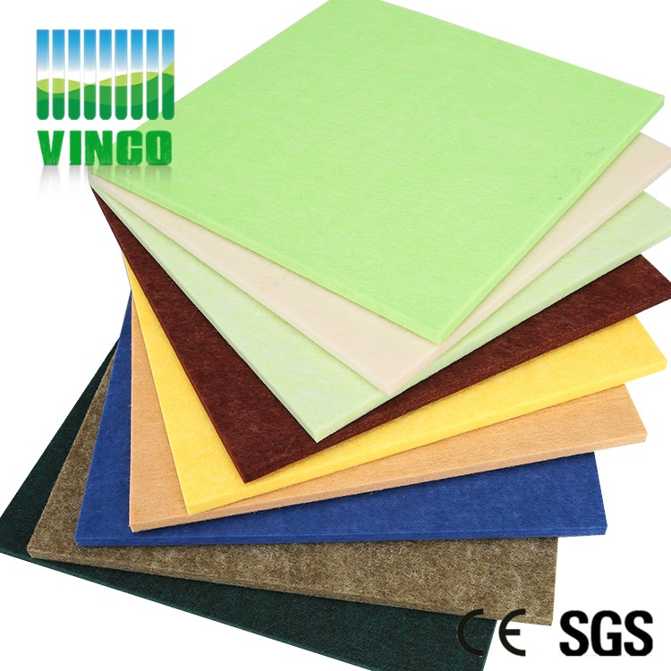 supply building insulation materials polyester fiber acoustics