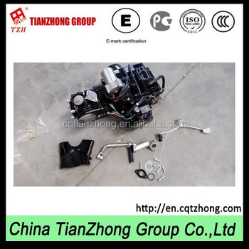 TZH C series engine of 90cc 4 stroke motorcycle engine for ATV from china