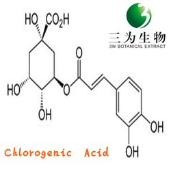 Chlorogenic Acid from Eucommia Leaf Extract Natural High quality