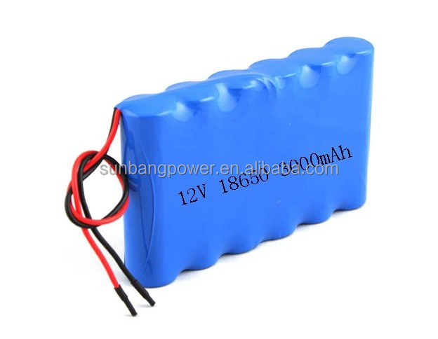 Rechargeable 12V 3Ah Li-Ion Battery Pack Led Light ,Lithium Li Ion Battery 3000Mah