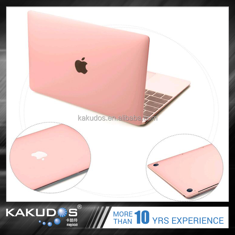 Removable adhesive laptop skin for apple macbook pro 13 inch cover