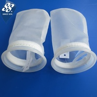 food grade 5 10 25 50 100 150 200 300 400 500 micron polyester nylon mesh water liquid filter bag/filter sock
