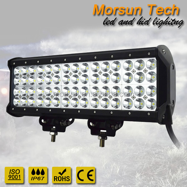 "4 row 180 watt 15"" led lightbar,high lumen led bar,led worklight 180w waterproof"