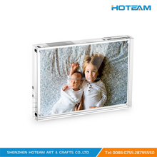 4x6'' Clear Acrylic Desktop Frameless Picture Photo Frame