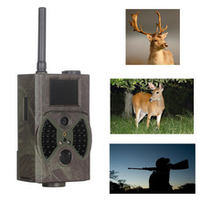 12MP Outdoor Motion Detection Black Fash Hunting Trail Camera, GPRS MMS Email, SMS Command