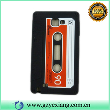 cassette tape case for samsung galaxy note 2 n7100