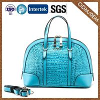 Wholesale New Pattern Genuine Leather Premium Quality Satchel Hand Bag Lady
