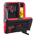 TPU + PC 2in1 Combined Case kickstand phone cover For Motorola E2