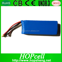4S 14.8V Li-polymer 25C RC Lithium Polymer rechargeable battery pack 5200mAh Lipo battery