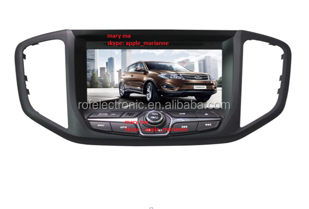 2014 car radio for Chery Tiggo 5 car radio auto dvd video media player accessories