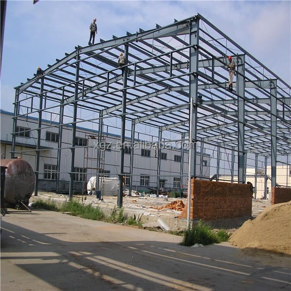 China Large Span Cheap Prefab Steel Structure House