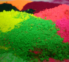 Pre-disperse Pigment of colored piece or paste for nail enamel special purpose