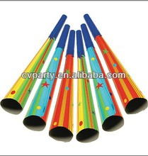 Popular cheap paper horn,birthday horn for kids birthday party favor horns