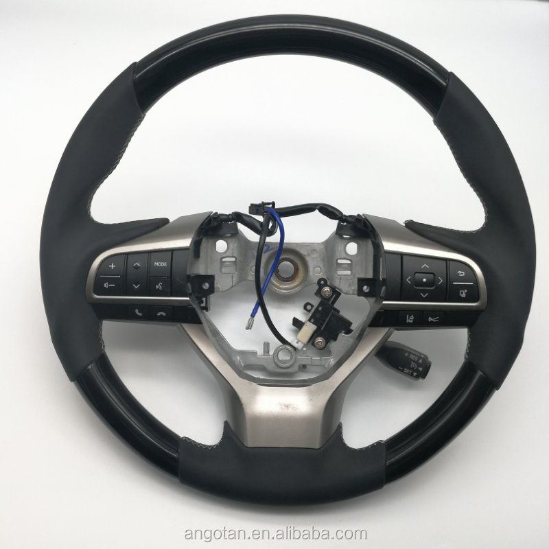 Steering wheel for Lexus RX EX LX IS with carbon fiber