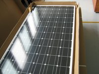 monocrystal solar panel 100W