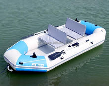 PVC Inflatable 2-person Fishing Boat