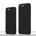 DFIFAN Mobile Phone Accessories hot sale cases for iphone7 Black Soft TPU Matted Cover Case For iPhone 7 7 Plus