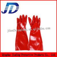 Chinese manufacturers of security products wholesale oil PVC waterproof gloves industrial protective gloves