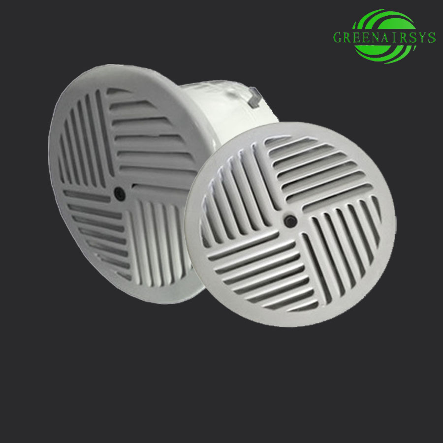 Staircase Diffuser / Stairway Air Outlet / Floor Air Vent