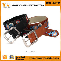 Pu Leather Effect PU Belt High