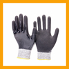 ZMSAFETY Nitrile Fully Dipped Cut and Chemical Resistant Gloves Oil Industrial Cut Protective Gloves