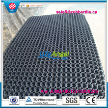 Chinese supplier most popular noise reduction commercial rubber floor marnine mats