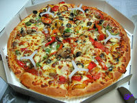 Parbaked Frozen Pizza