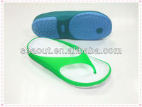 new fashion colorful delicate colors jelly nursing clogs