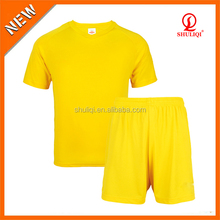 High school youth soccer uniforms sets made in China