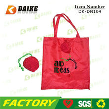 Durable High Quality Reusable Eco rose folding shopping bag
