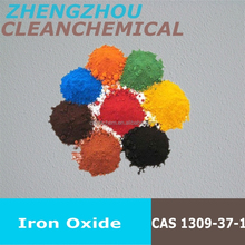 Iron Oxide for Asphalt and concrete