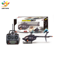 RC helicopter 61.5 cm high quality 4CH large rc helicopter toy