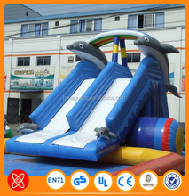 cheap price PVC slide inflatable castle slide inflatable water slide