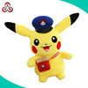 custom plush pokemon plush pikachu toys /pocket pikachu with hat pet toys