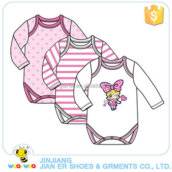 Sweat absorption and breathable girl cotton clothes 3 pcs sets