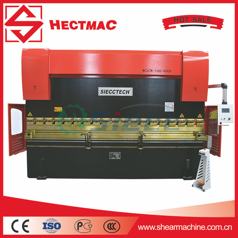 Automatic steel plate bending machine, WE67Y/<strong>K</strong>/E sereis press brake folding machine steel plate hydraulic sold