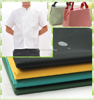 good quality hotel fabric textile customized cotton fabric kitchen staff uniform fabric