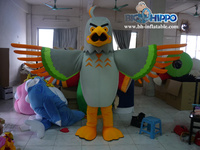 2016 fashion Red eagle funny cartoon costumes cartoon character mascot costumes