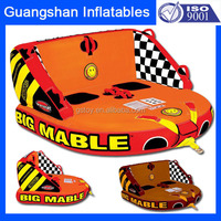 two peoples PVC inflatable water ski sport tube