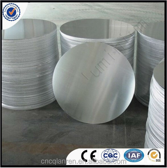 Aluminium disc cutting for cookware deep drawing usage/manufacture