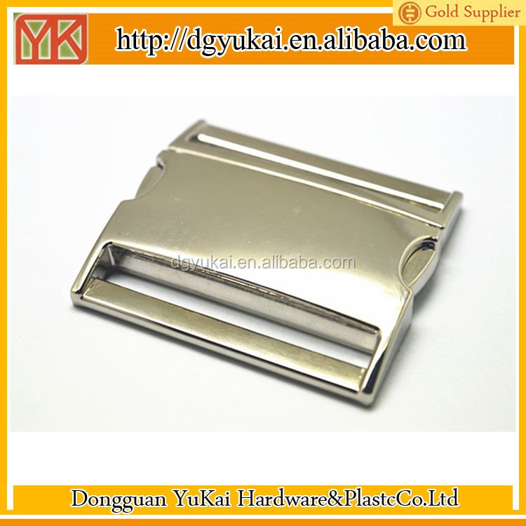 large piece of quick release metal buckle for bags and luggage