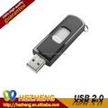 oem custom push and pull plastic usb flash drive 64GB