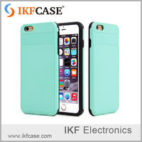 2016 wholesale products PC and TPU hybrid 5.5inch mobile case shell with Supple and Durable For iphone 6 plus