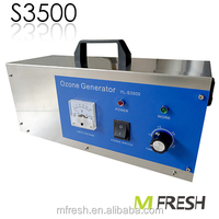 MFresh S3500 portable ozonator hotel air purifier for odor removal machine
