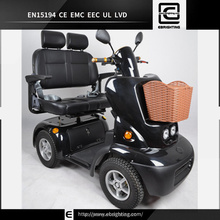 four wheel with roof mobility scooter for eld people 1 person electric handicap scooter