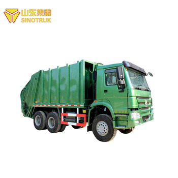 China brand howo sinotruk garbage truck dimensions with good quality