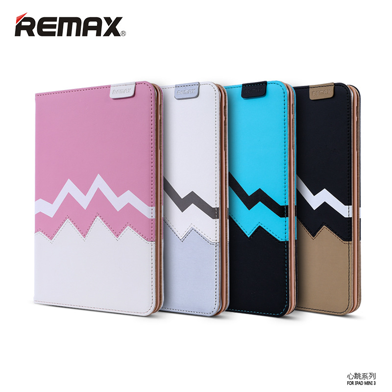 Original Remax flip leather cover case for ipad air 2 with stand
