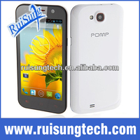 POMP W89 MTK6589 Quad core 4.63 inch capacitive screen 1GB RAM 4G ROM Android 4.2 Smartphone Free leather case
