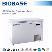 -86 degrees Horizontal type Ultra-low Temperature Freezer/ ULT Freezer/ Cryogenic storage box